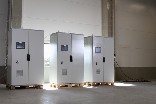 Omaa valmistustamme oleva teollisuuden päästömittausjärjestelmä -
