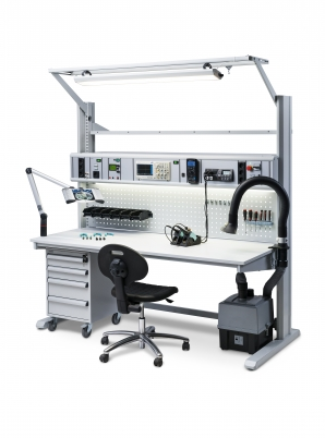 Electrical device maintenance and test bench